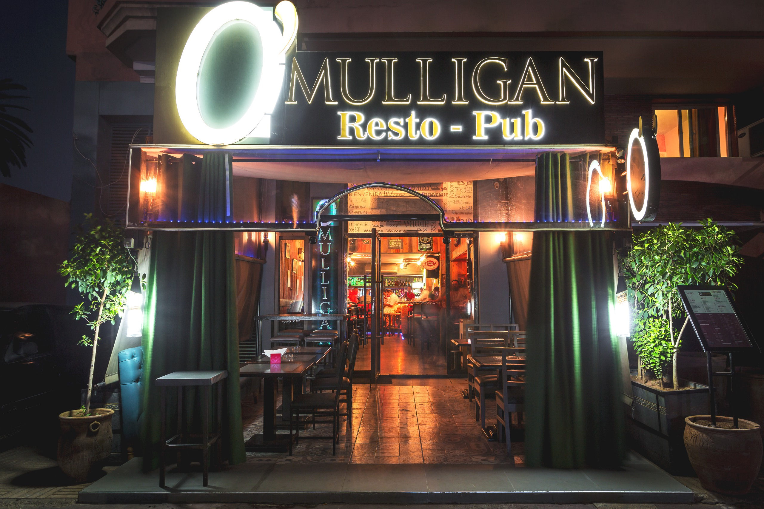 Pub O'Mulligan in Marrakech